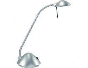 MAUL halogén asztali lámpa ARC II ezüst - Jelenlegi ára: 7 200 Ft