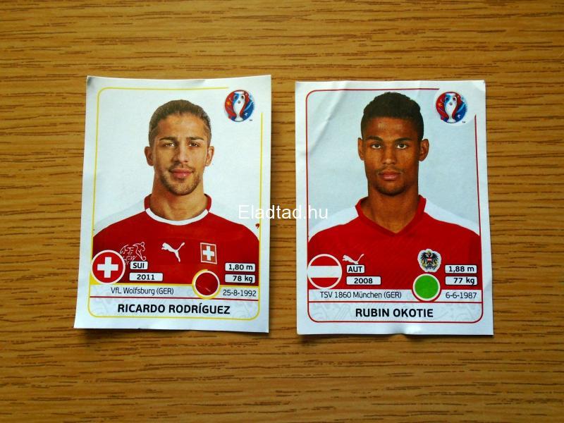 EURO 2016 France focis matricák