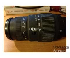 Sigma DG70-300 Macro objektív