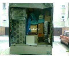 Költöztetés - Bútorszállítás - Bútorszerelés Rugalmasan - Lendületesen :-)